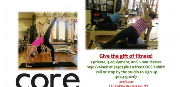 Core Pilates of Jackson Hole Holiday Special Promotion